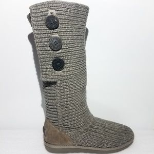 Ugg Australia Womens 9 Cardy Knit Boots UGGS